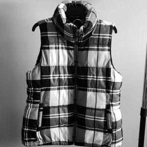 Black and White Old Navy Vest